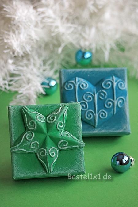 basteln f r weihnachten weihnachtliche geschenkschachteln. Black Bedroom Furniture Sets. Home Design Ideas