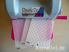 Double-Do mit Sizzix Embossing Folders