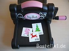 Sizzix Big Shot mit Double-Do Schablonen