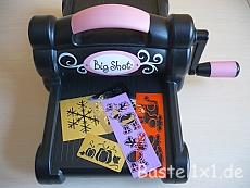 Sizzix Big Shot mit Messingschablonen