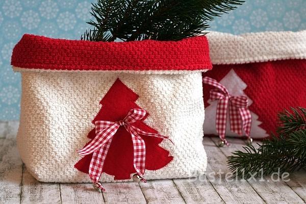 Nahen Fur Weihnachten Weihnachtsbeutel Aus Frotteestoff